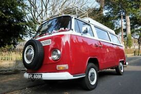 Beautiful T2 Bay VW Camper Van