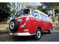 Beautiful T2 Bay VW Camper Van