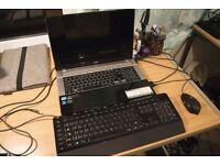 Acer Aspire V3-771G 17in Desktop Replacement i7-3610QM / GT650M / 16GB RAM / WIN7 PLUS ACCESSORIES