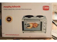 Morphy Richards Convection Mini Oven - Silver - Nearly new