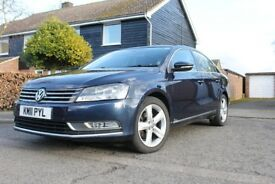 excellent condition,vw passat 2.0tdi blue motion