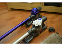Wanted DYSON Cordless,Hand held or Stick Vacuums