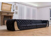 Exclusive Designer Chesterfield Sofa - Stunning and Comfortable!