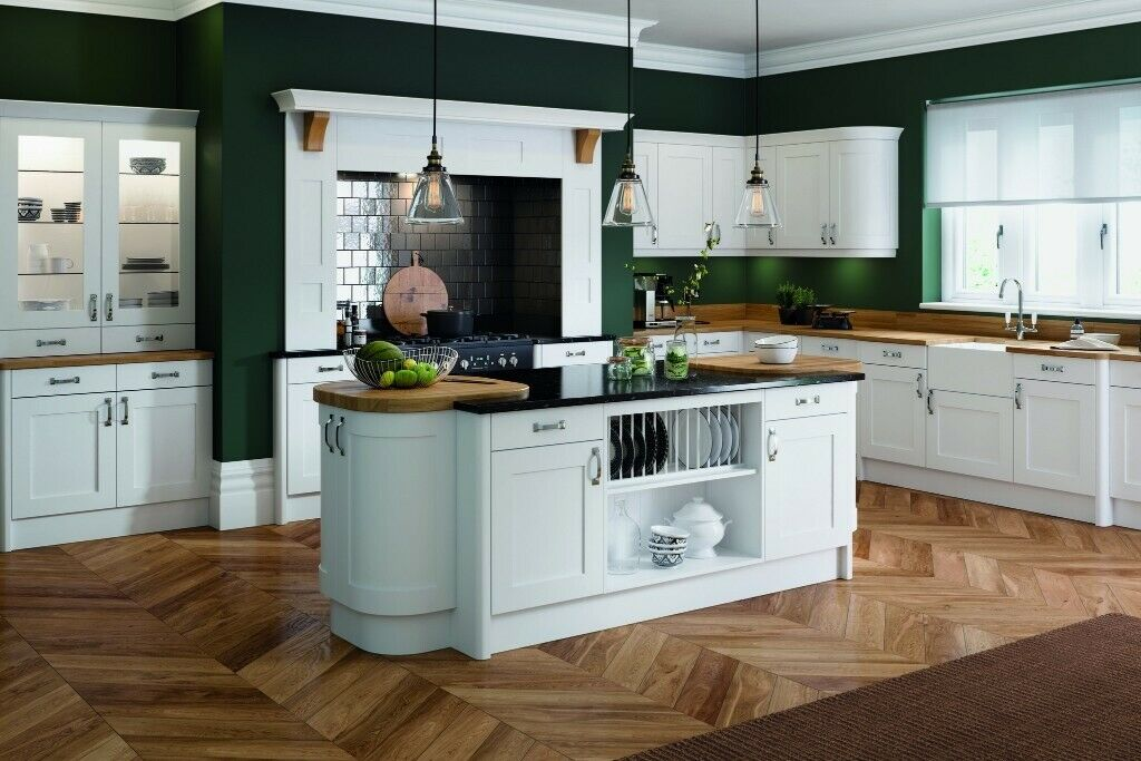 Complete Kitchen Cabinets Oxford White, Package OFFER ...