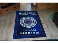 Glasgow Rangers Football Club rug Floor or wall feature very collectable