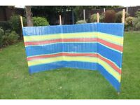 windbreak - for shielding camping stoves etc.