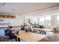 Affordable desks available at beautiful and quiet co-working space in Bethnal Green E2
