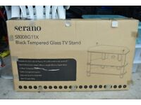 """SERANO S800BG11X Black TV Stand for up to 37"""" television"""