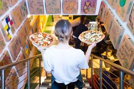 Pizza Pilgrims seeks Waiting Staff, Waiters, Waitresses in Canary Wharf/West India Quay E144AE