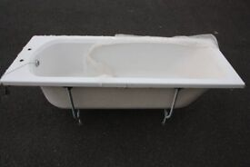 White Bath standard size unused - free to collector