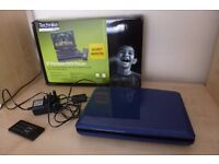 """9"""" Portable DVD Player (rrp was £79) reduced to £25"""