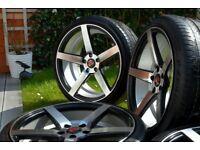 Alloy wheels HONDA/MAZDA/LEXUS 19 5x114.3 (AXE EX 18 )