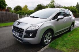 Peugeot 3008 Exclusive HDI, Low Mileage, Heads-up Display, Panoramic Sunroof, Climate Control
