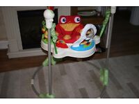 Fisher Price Rain Forest Jumperoo Musical with Lots of Toys