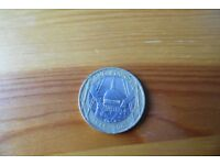 st pauls cathedral £2 pound coin