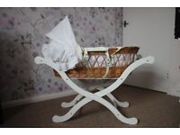 Mothercare Moses Basket with Stand!