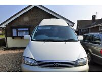 Toyota Granvia 1998 3 litre Automatic Diesel Motorhome. Lovely condition. well looked after