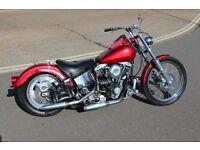 1982 Hardtail Custom Harley Davidson Shovel Head