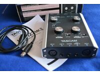 USB Audio Interface TASCAM US-122mk2