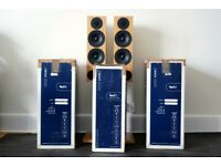 PMC FACT.3 Speakers - RRP £4100 - Oak - Fact 3 Floor standing WITH BOXES £1995 🔥