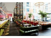 Cool hotel, loads opportunity, recruiting all aspects of Food and Beverage
