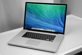 17' Apple MacBook Pro 2.2Ghz i7 Quad Core 8Gb Ram 500GB HD Logic Pro X Cubase Ableton Final Cut Pro