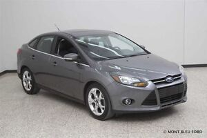 2013 Ford Focus Titanium w/NAC, LEATHER, ROOF  **NO ADMIN FEE, F