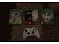 Rainbow Six siege download code £10 Dragon Age £5 Xbox One controller 2017 version £35