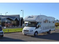 Ford Transit Motorhome 6 Berth Left hand drive (very rare)