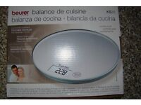 Beurer KS28 Kitchen Scale Round