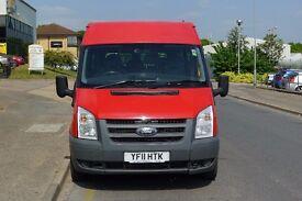 Ford Transit Minibus 2011 - 9 seats - FULL YEAR MOT *******PLUS VAT*********