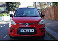 Hyundai i10 1.2 Classic, 59 Plate, Great condition, Low mileage 49k, Cheap insurance, £30 Road Tax.