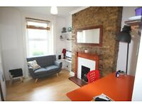 CAMDEN TOWN CHARACTER ONE BEDROOM FLAT WITH ROOF TERRACE 3 MINS WALK TO TUBE, MARKET & CANAL