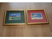 Framed Hamish MacDonald prints of Perthshire
