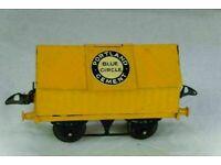 Used, Vintage Hornby 'O' Gauge Portland Cement Wagon for sale  Southside, Glasgow