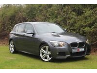 BMW 1 SERIES 2.0 118d M Sport 5dr (grey) 2013
