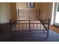 Beautiful metal double bed frame