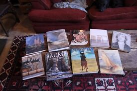 Collection of Artists books - Picasso, Turner like new - cost over £290