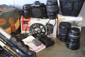 Canon 40D & Lens Kit