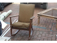 Parker Knoll Rocking Chair Needs Re-upholstering