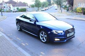 Audi A5 3.0 TDI coupe automatic, Metallic blue