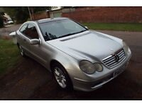 Mercedes-Benz C Class 1.8 C180 Kompressor SE 2dr MOT to 01/25/2017