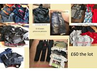boys clothes 13-14 years collection only from didcot prices on pictures can split bundles