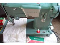 singer electric sewing machine model 327 heavy duty sewer