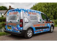 Mobile Valeting Business MR VALET for sale. Established 10 years. Includes van, equipment & website