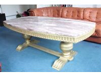 Coffee Table - original and genuine marble top