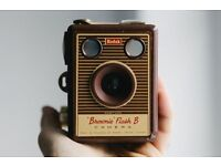brownie flash b camera and case