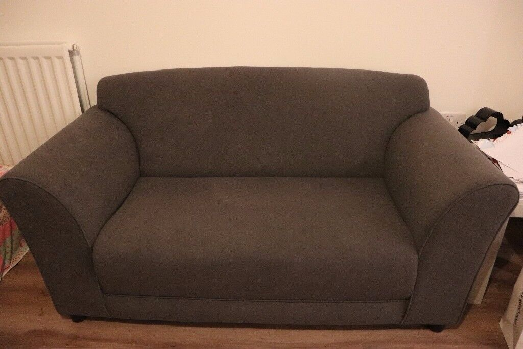 2-Seater Fabric Sofa (Barely Used!)