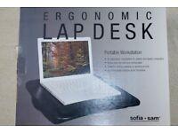 Laptop desk portable worktop for notebook applemac ipod toshiba sony panasonic acer
