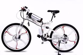 Brand New Electric Folding Bike Go Go Jedi